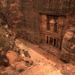 Jordan-petra-view-from-top-wallpaper